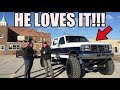 GIVING A SUBSCRIBER HIS DREAM POWERSTROKE DIESEL TRUCK!!!