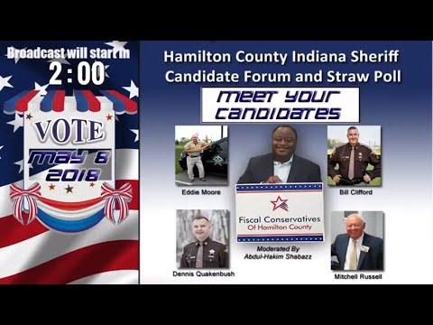 Hamilton County Sheriff Candidate Forum