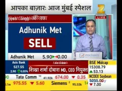 View On Adhunik Metaliks Ltd, ICICI Bank Ltd, Dish TV India Ltd And TV Today Network Ltd : StockAxis