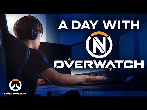 A Day With EnVy Overwatch