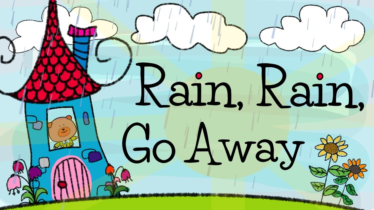 Rain Go Away Nursery Rhymes For Kids Elf Learning The Singing Walrus You
