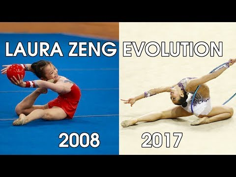 Laura Zeng (age 8 to 17) – Gymnastics Through The Years