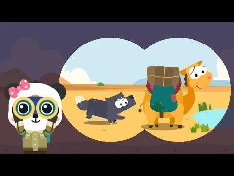 Bé học con vật cùng nhà thám hiểm Gấu Trúc nhỏ - Động vật trong sa mạc