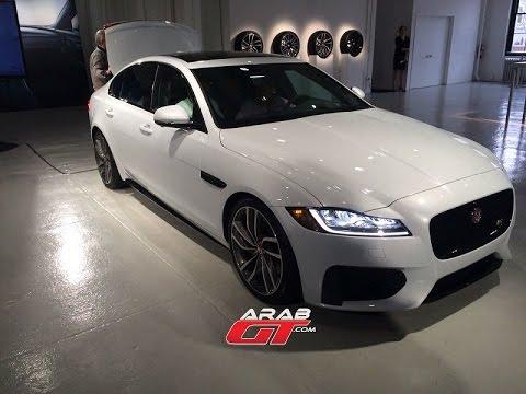All New Jaguar XF إطلاق سيارة جاكوار اكس اف 2016 - YouTube
