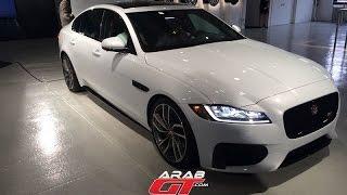 All New Jaguar XF إطلاق سيارة جاكوار اكس اف 2016