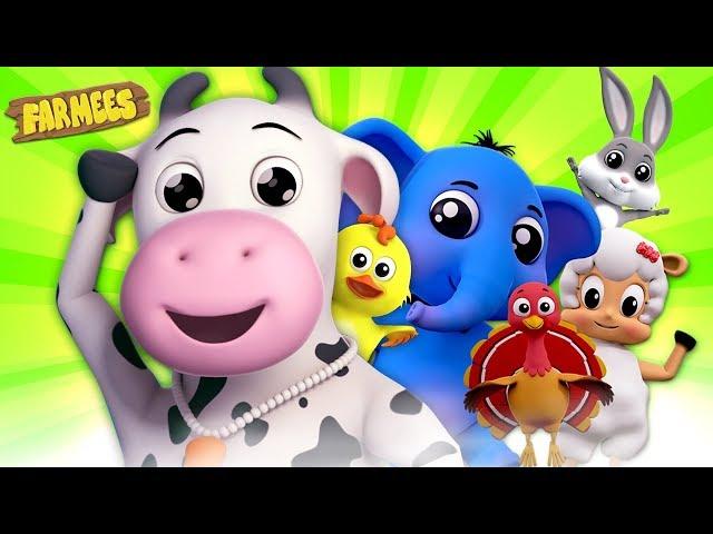 Best Kids Songs Collection | Kindergarten Nursery Rhymes & Baby Songs | Cartoon Videos by Farmees