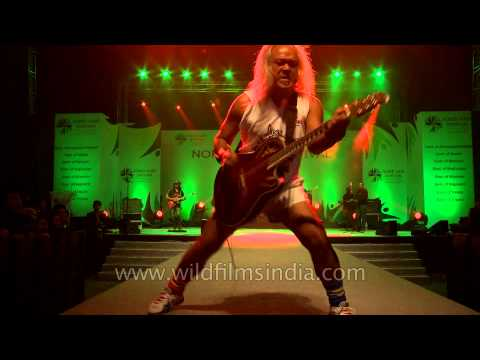 Famous Khasi musician Lou Majaw burns up the stage!