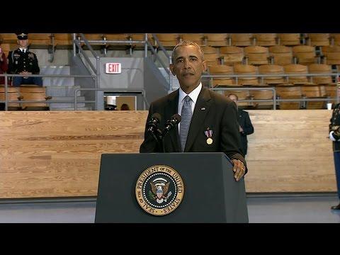 Armed forces full honors farewell ceremony: President's speech