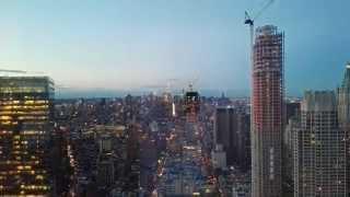 Zeitraffer: New York mit Sonnenuntergang - Huawei P8