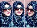 Summer Inspired Hijab Style With SUNGLASS