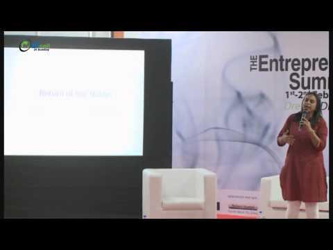 Rashmi Bansal launching her new book Take me Home at The Entrepreneurship Summit 2014