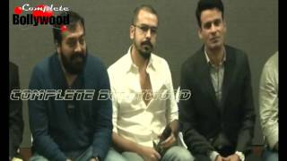 Manoj Bajpayee, Anurag Kashyap, Tigmanshu Dhulia & Others At Launch Of Short Film 'Taandav'