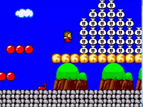 Alex Kidd in Remake World HD Rom Hack Master system