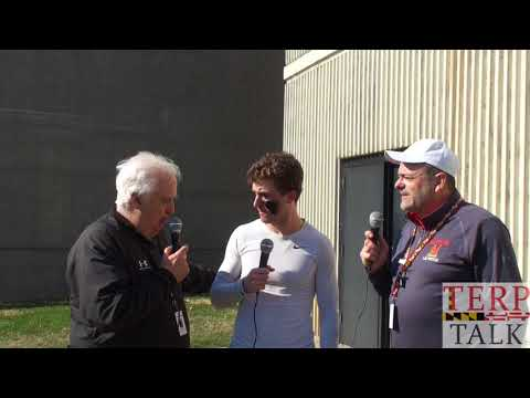 Connor Fields interview Albany Lax w Bruce Posner + Wayne Viener Terptalk Lacrosse
