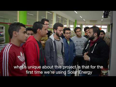 "Renewable Energy : Train the Egyptian Youth for Careers in Electricity - ""Seeds of Hope"" program"