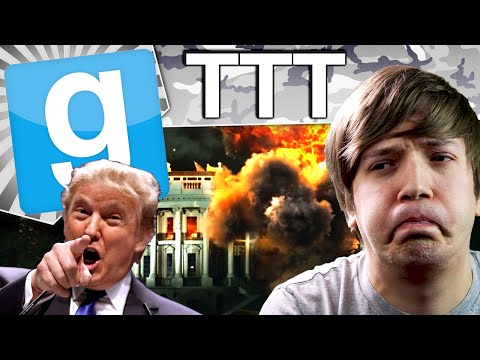Gmod TTT - White House Down (Garry's Mod Funny Moments)