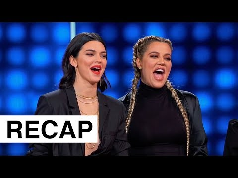 Kardashians Vs The Wests On Celebrity Family Feud | KUWTK Recap | Hollywoodlife