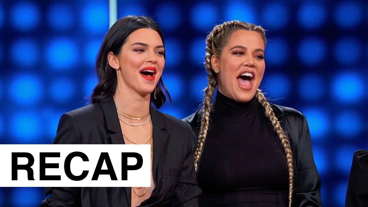 Kardashians Vs The Wests On Celebrity Family Feud   KUWTK Recap   Hollywoodlife