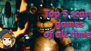 Top 5 best horrific games of all times||Dij B Gaming