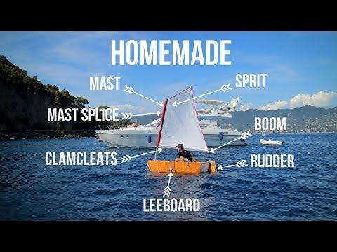 How I Made A DIY Sailing Rig For Our Tender | ⛵ Sailing Britaly ⛵