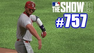 FIRST TIME I'VE EVER RECORDED THIS CRAZY STAT! | MLB The Show 19 | Road to the Show #757