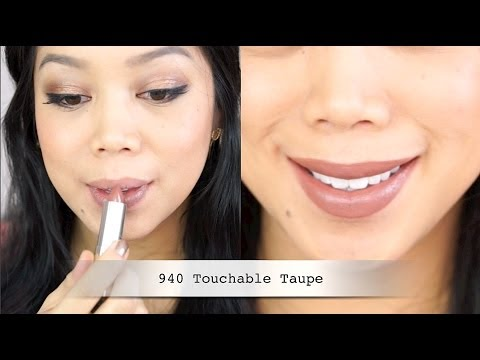 NEW Maybelline THE BUFFS Color Sensational lipstick swatches - itsjudytime