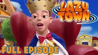 Lazy Town | Prince Stingy | Full Episode