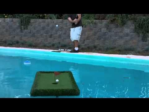 Floating Golf Green Youtube