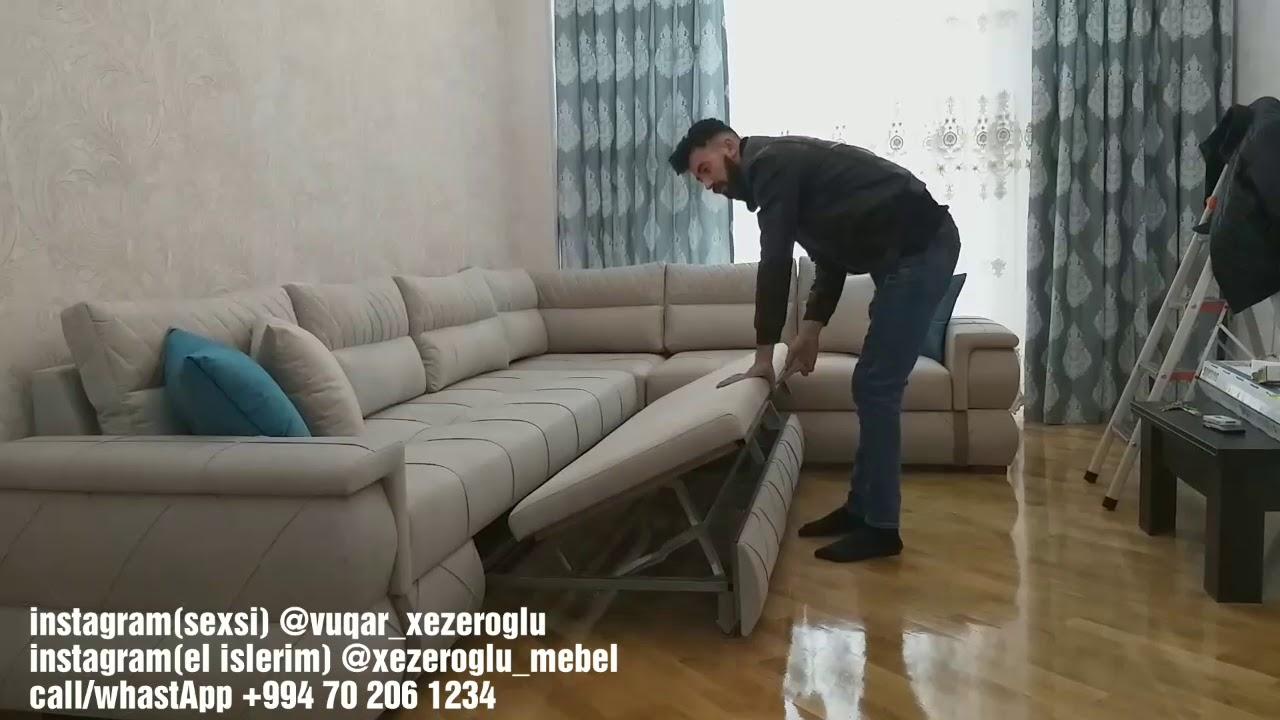 Modern Kunc Divan Xezeroglu Mebel Youtube