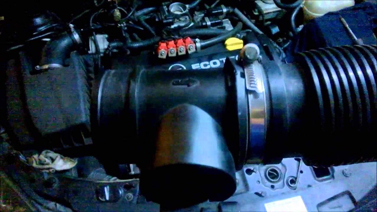 Opel Astra Hava Debimetresi Air Flow Sensor Maf Youtube Meter Circuit Mass