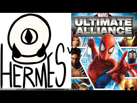 Hermes The Good Vs Marvel Ultimate Alliance