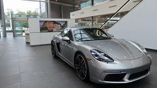 2017 Porsche Exclusive GT Silver Porsche 718 Cayman S 350 hp @ Porsche West Broward