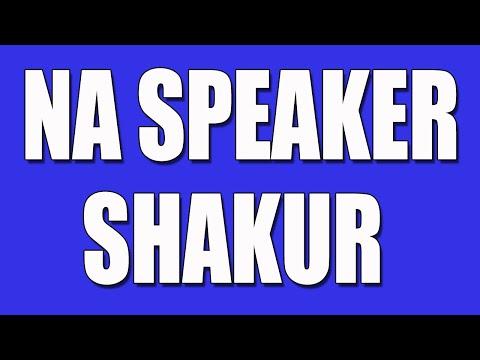 Shakur Narcotics Anonymous Speaker