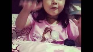 Lagu anak satu satu sayang ibu - Crystal Jacinth nyanyi lagu anak satu satu aku sayang ibu ❤️