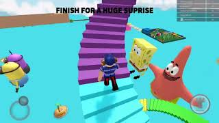 Playing Escape Target with my sister at ROBLOX