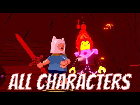 LEGO Dimensions - Meeting All Characters in Adventure Time World (Flame Princess, Marceline, ETC)