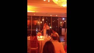 Westbrook-Ray Wedding: Father-Daughter Dance