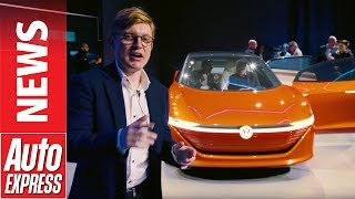 Фото с обложки Vw Id Vizzion Concept - Volkswagen'S Take On The Luxury Car Of 2022 Has No Steering Wheel
