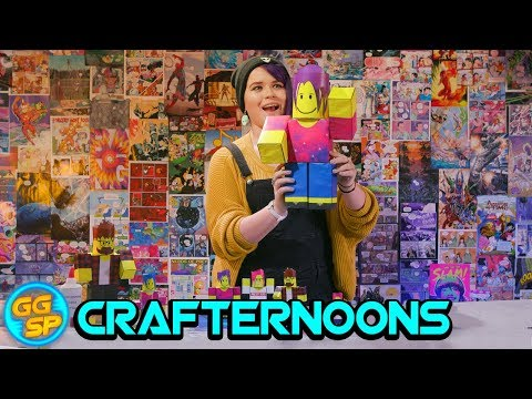 How To Make Your Own Roblox Paper Figurines!   Crafternoons