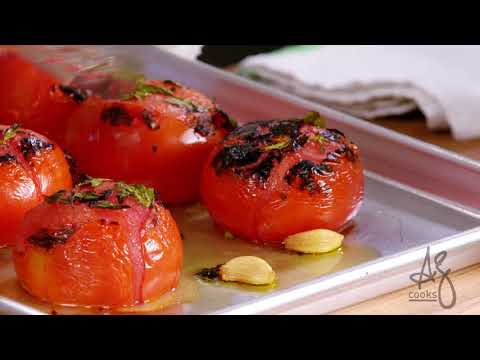 Andrew Zimmern Cooks: Roasted Tomato Sauce With Peter Campbell