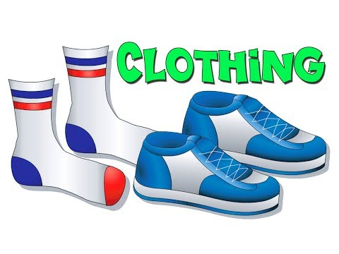 """Clothing Lesson"" - Teach Names of Clos, Kids Learn English, ESL, EFL, ..."