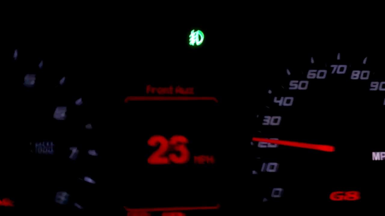 Tuned Pontiac G8 V6 0 60
