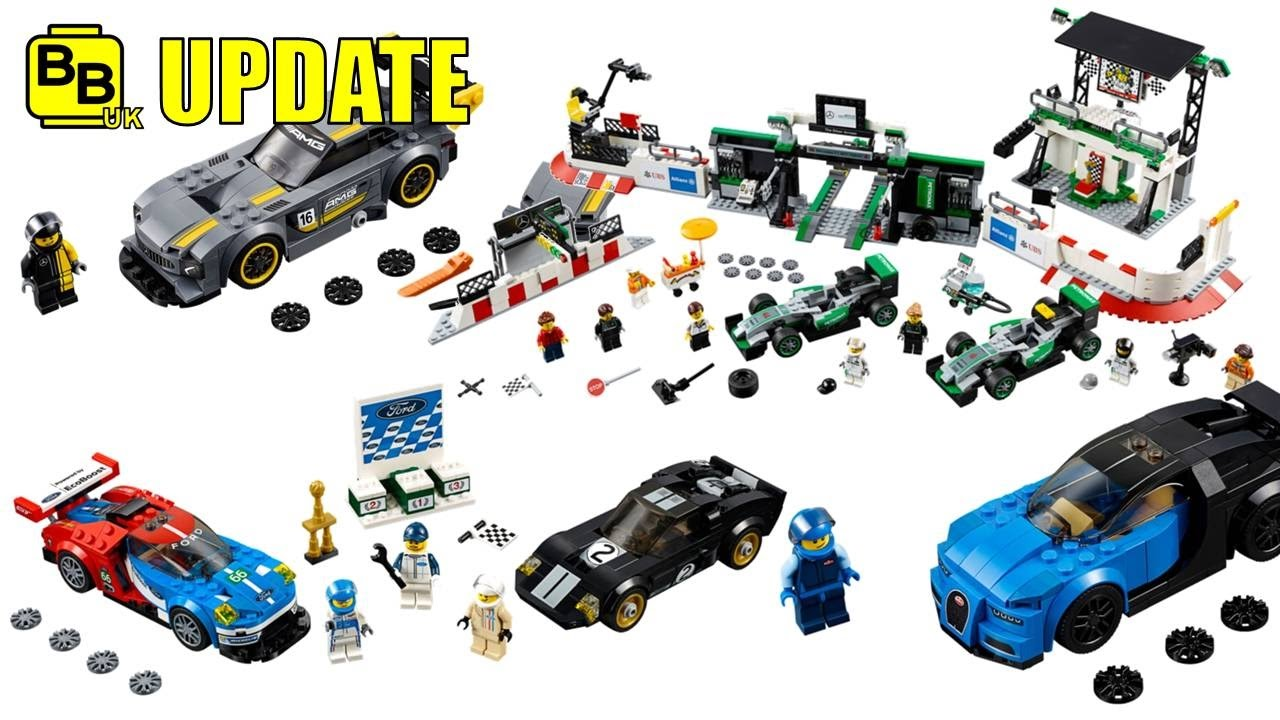 lego 2017 speed champions set images revealed news update youtube. Black Bedroom Furniture Sets. Home Design Ideas