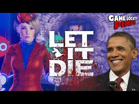 Obama Kills Haters in LET IT DIE - PS4 - Game Society