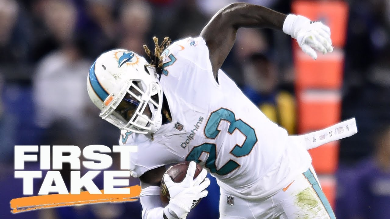 First Take reacts to Dolphins trading Jay Ajayi to Eagles