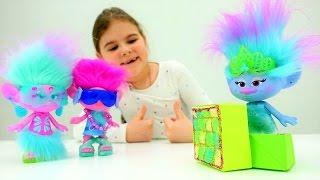Тролли - подарок для Синельки. Идеи для кукол - Мультики для девочек