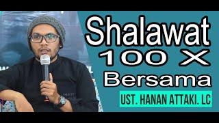 Download lagu Sholawat 100 Kali Bareng Ust. Hanan Attaki