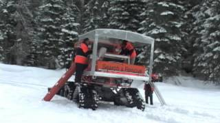 Rescue Modification to Tucker Sno-Cat