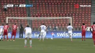 FC Zürich vs FC Sion 1-0 / Raiffeisen Super League / 26.08.2012