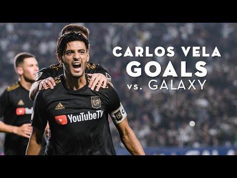Carlos Vela Goals vs. LA Galaxy